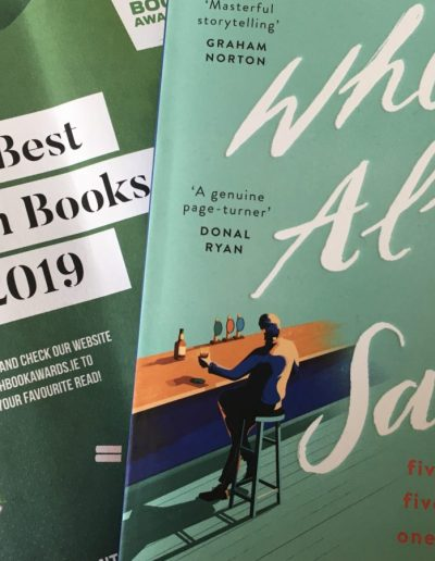Irish Book Awards shortlist 2019
