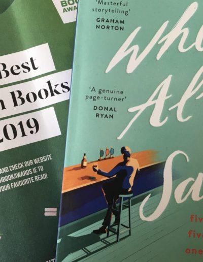 Irish Book Awards shortlist 2019